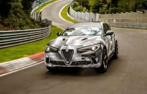 Alfa Romeo Stelvio Sets The World's Fastest SUV Record At The Nürburgring (Video)