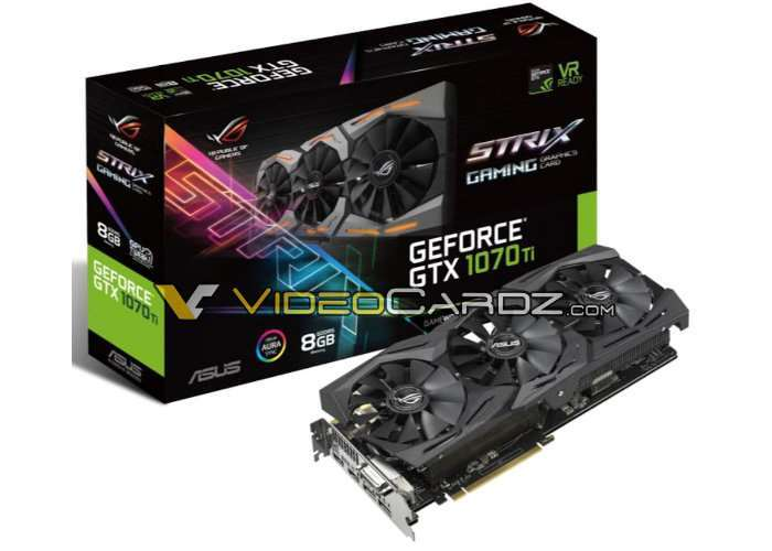 ASUS ROG STRIX 1070 Ti Turbo Graphics Cards
