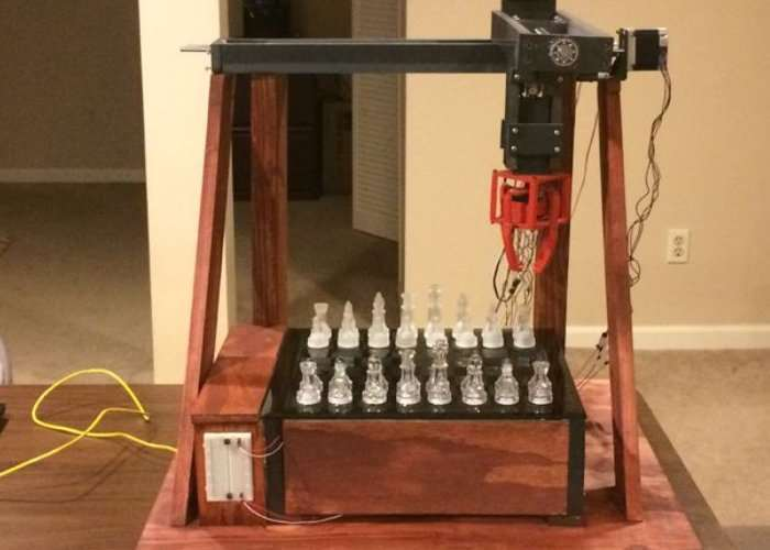 Arduino Controlled Chess PlayIng Robot