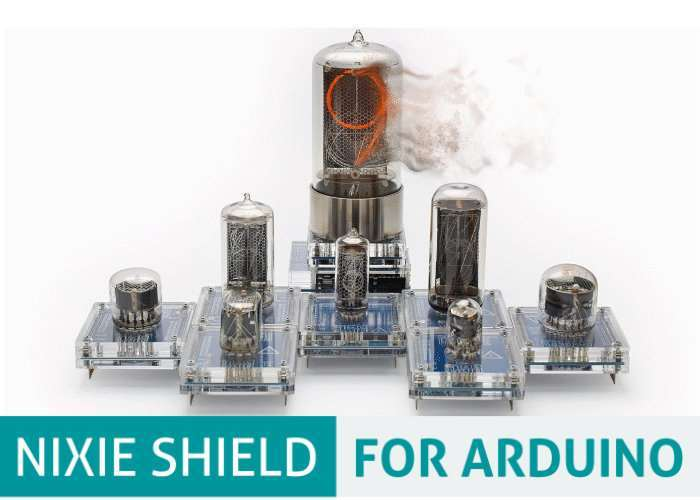 Arduino Nixie Tube SHIELD