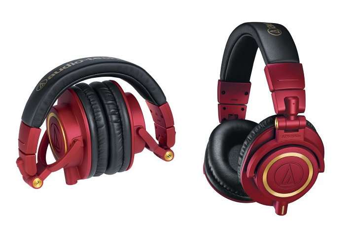 Audio-Technica Limited-Edition ATH-M50xRD Headphones