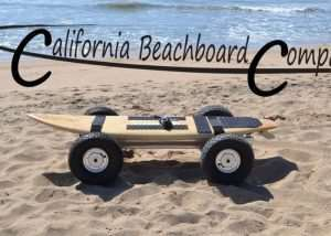 Beachboard Electric Surfboard Takes To The Beach