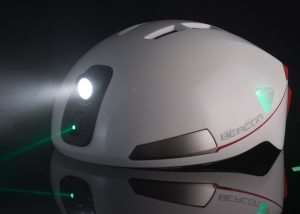 Beacon Smart Cycling Helmet Warns OF Your Approach Using Lasers