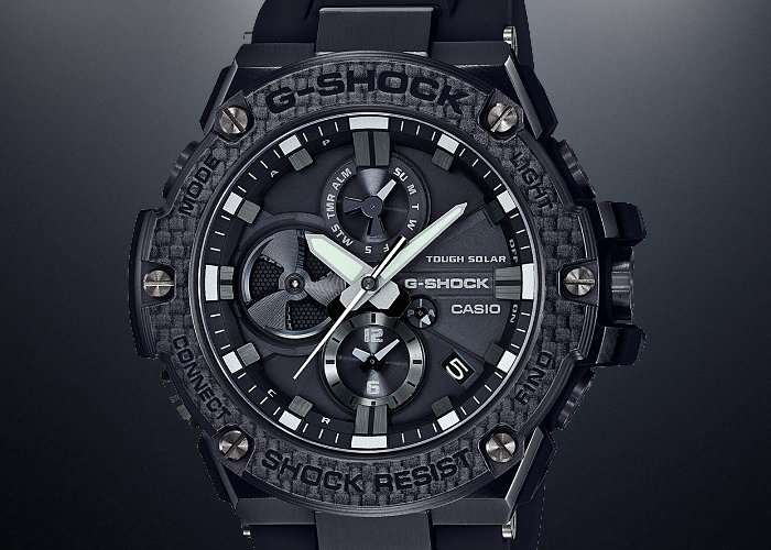 Casio G Steel B100 G Shock Smartwatch Connects To Your Smartphone