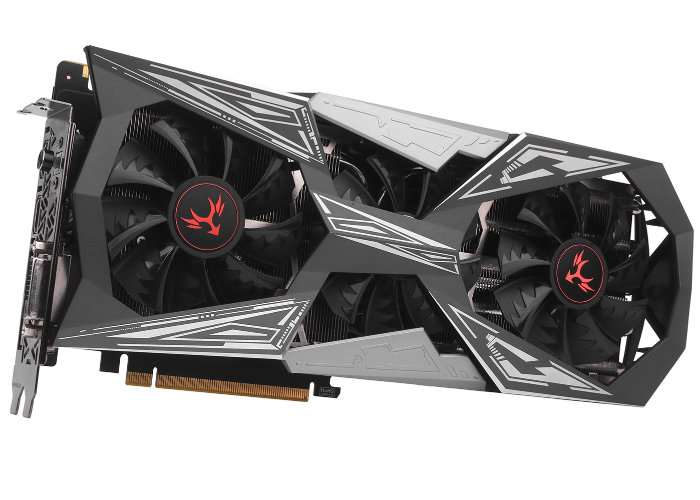 Colorful iGame GeForce GTX 1070 Ti Vulcan X Top Graphics Card