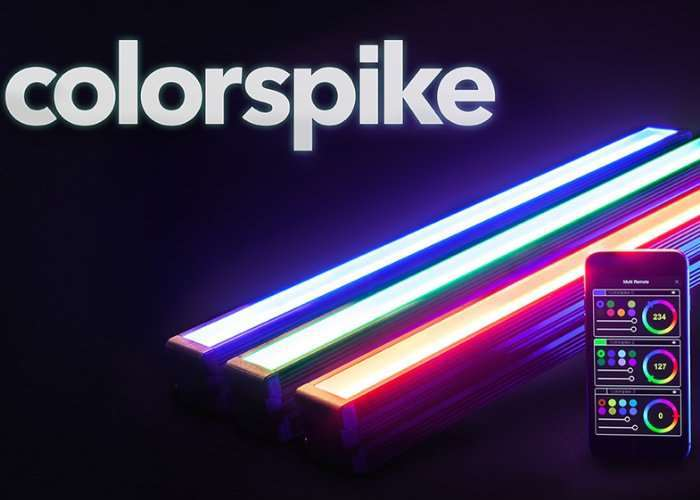 Colorspike Smartphone Controlled Animated Lighting System