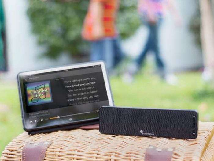 DASH A World's Flattest Portable Speaker