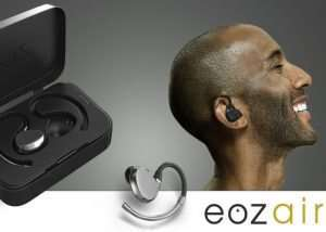 EOZ Air Wireless Earphones With Charging Case For $89 (video)