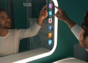 Eve Smart Mirror Complete With App Store Hits Kickstarter
