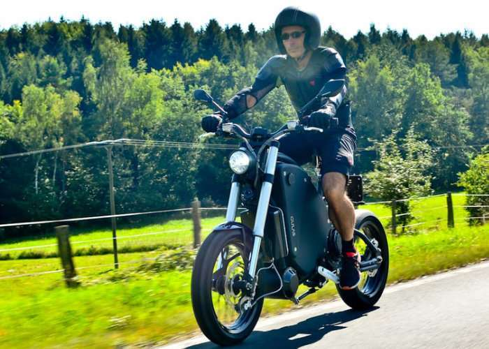 Gulas Electric Motorcycle