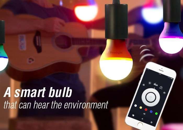 Heelight Smart Bulb Hits Kickstarter