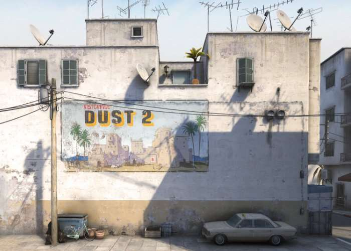 Iconic Counter-Strike Dust 2