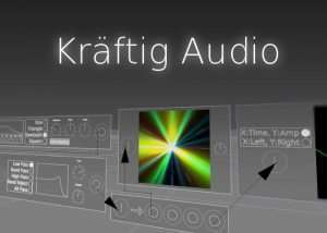 Create Music In Virtual Reality Using The Kraftig Audio 3D VR Audio Workstation