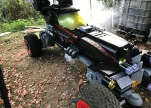 Awesome Lifesize LEGO Batmobile