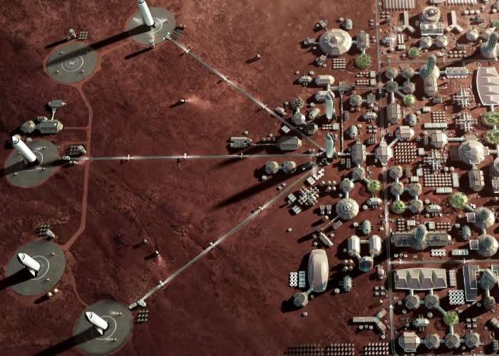 Mars City Plan