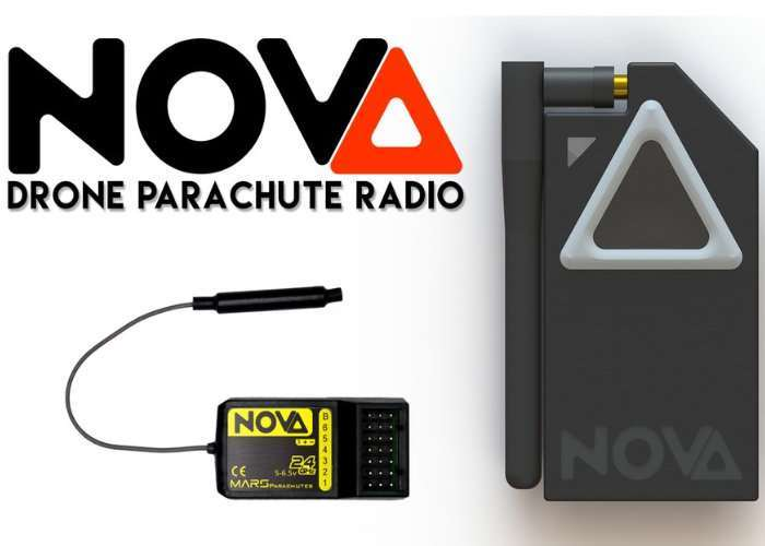 Mars NOVA Radio Drone Parachute