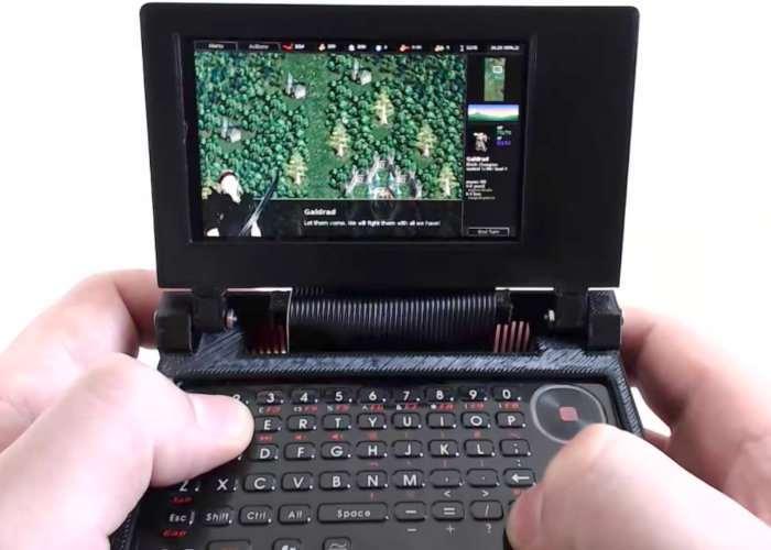 NODE Handheld Linux Terminal Version 3