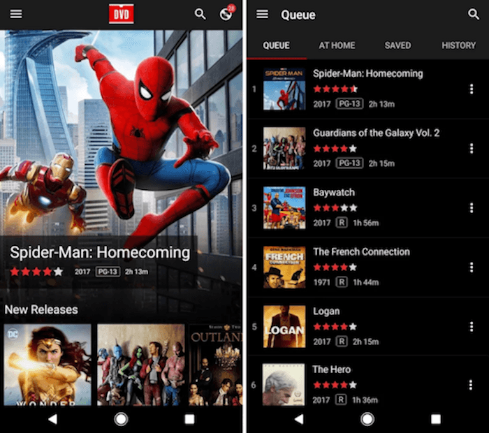 Netflix DVD Queue App Released For Android