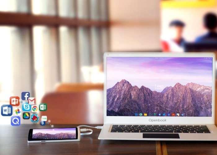 Openbook Smartphone Laptop