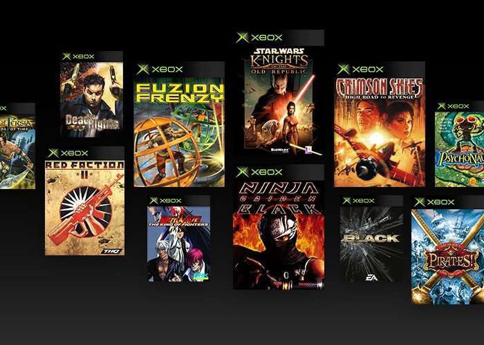Original Generation Xbox Games