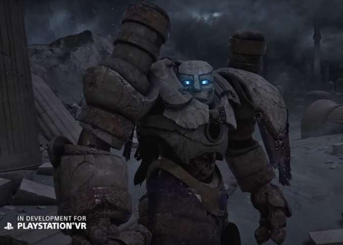 PlayStation VR Exclusive Game Golem