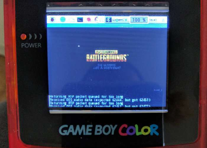 PlayerUnknown's Battlegrounds Played On A Game Boy