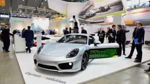 Porsche Develops One Off Electric Cayman E-Volution