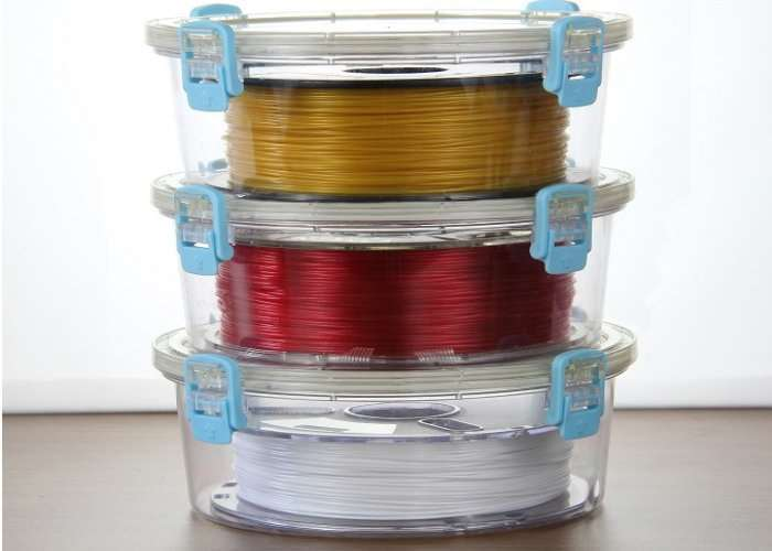PrintDry 3D Printing Filament Containers Protects Your Raw Materials