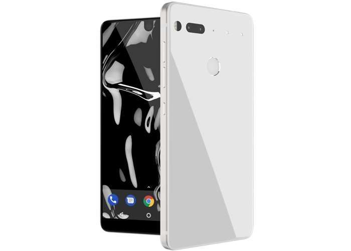 Pure White Essential Phone