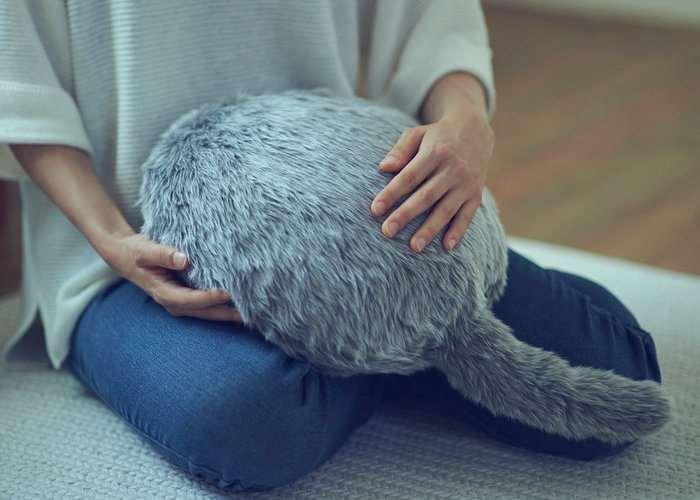Qoobo Tail Wagging Cushion