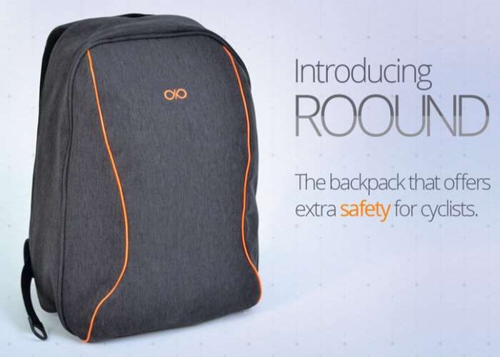 ROOUND Everyday Backpack For Cyclists