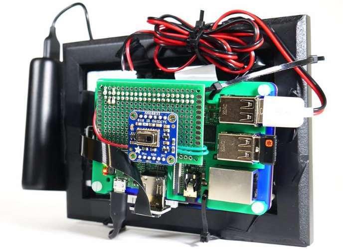 DIY Raspberry Pi Thermal Camera