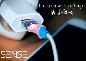 Sense USB Cable Offers A Safer Way To Charge Your Smartphone And Tablet
