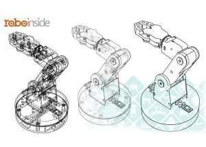 Smart Club DIY Robot Arm Created By RoboInside