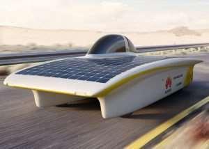 Sun Powered Cars Races Across Australia In Solar Challenge Race (video)