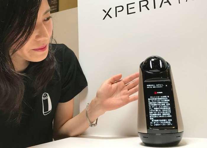 Sony Xperia Hello Home Robot