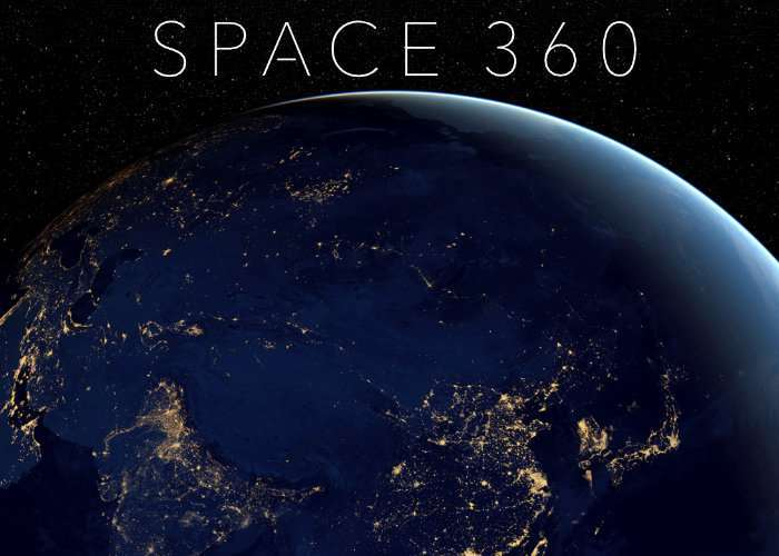 Space 360 Virtual Reality International Space Walk