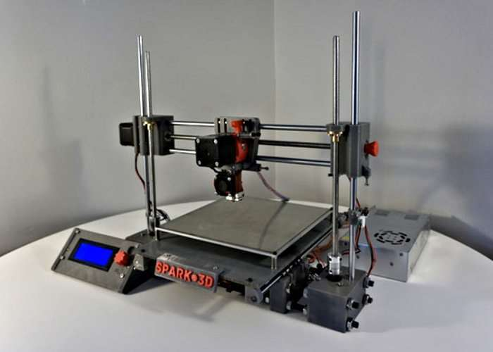 Spark 3D Phase 1 Affordable 3D Printer Kit
