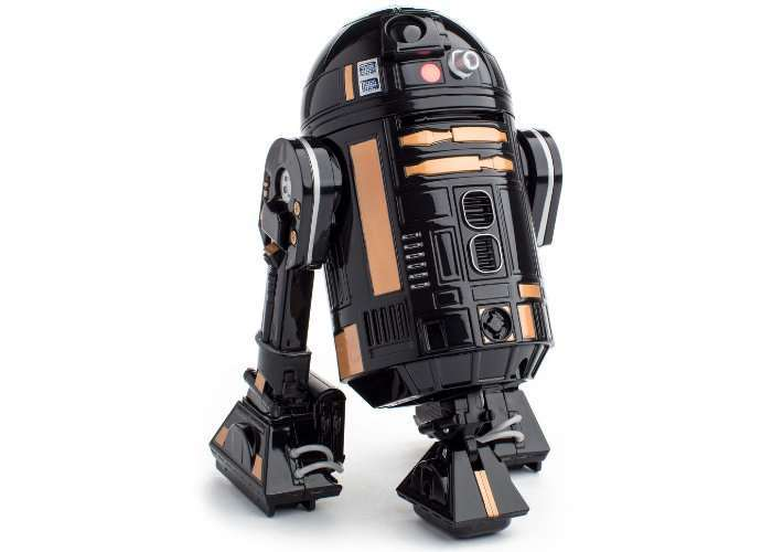 Sphero launches a blacked-out R2-Q5 droid
