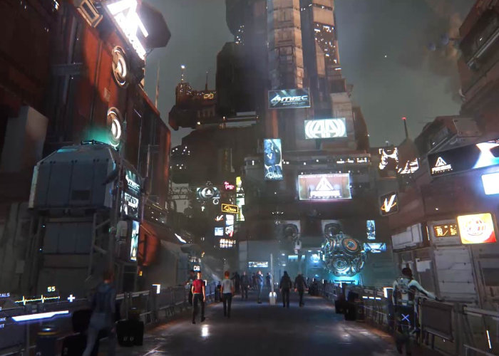 Star Citizen Cities The Size Of Planets