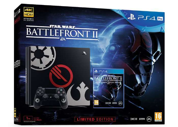 Star Wars Battlefront II Limited Edition PS4 Bundles