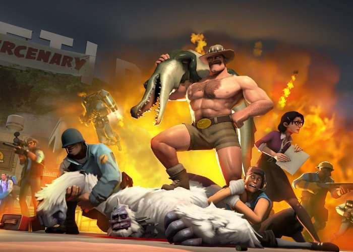 Team Fortress 2 Receives Major Update - Jungle Inferno