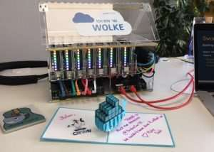 Tiny Raspberry Pi Cloud Created For Demonstration Purposes (video)