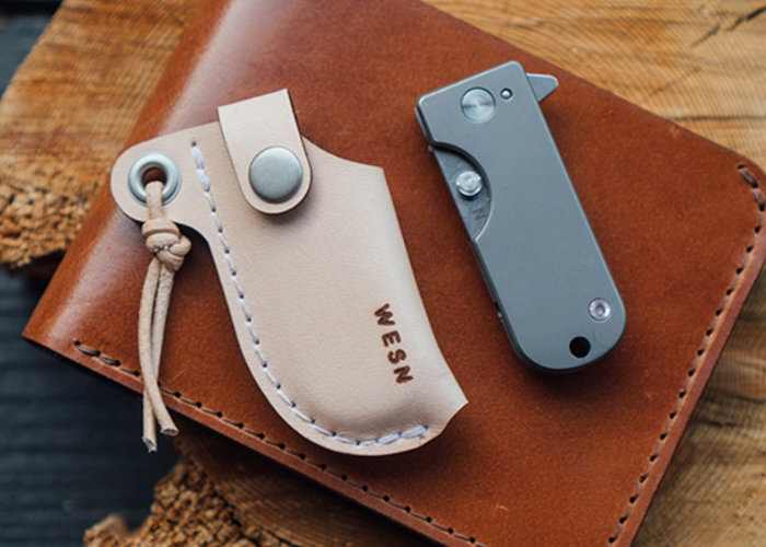 Titanium Micro Blade Pocket Knife