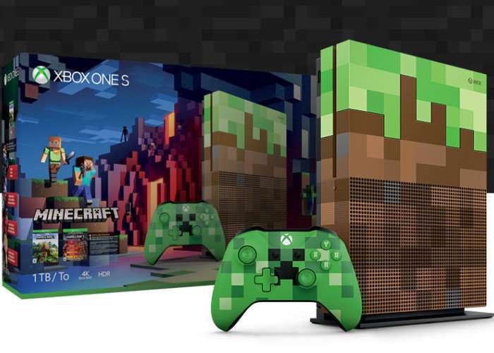 Unboxing Xbox One S Minecraft Limited Edition Bundle