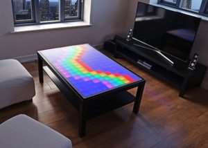 Unique Interactive Furniture, LED Table
