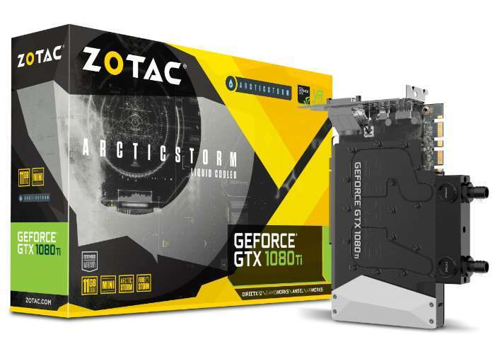 Worlds Smallest GeForce GTX 1080 Ti Graphics Card