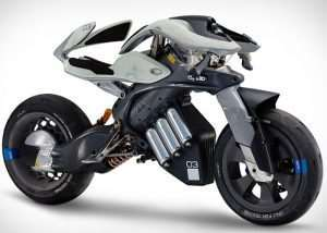 Yamaha Motodroid Self Riding Motorcycle Concept