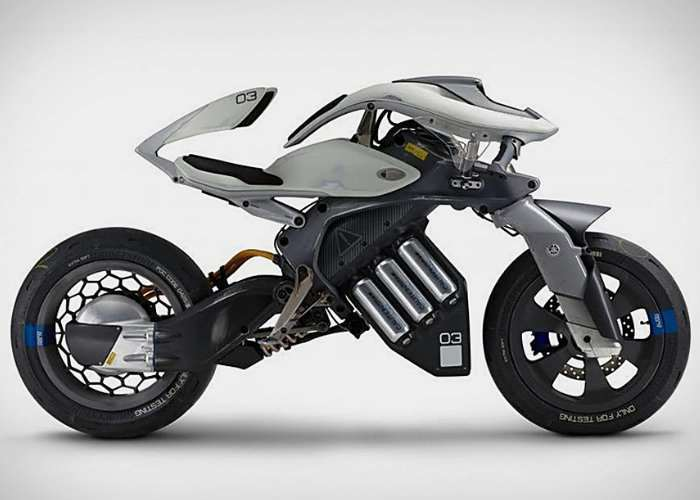 Yamaha Motodroid Self Riding Motorcycle