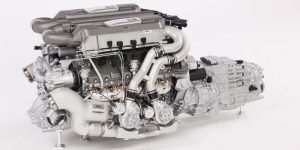 1:4th Scale Bugatti Chiron Engine and Gearbox is Fittingly Expensive